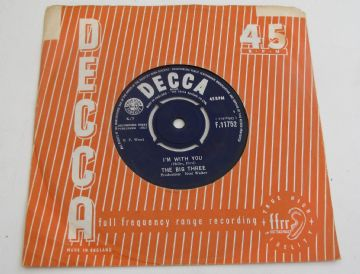 "Big Three (The)  I'M WITH YOU 1963 UK 7"" MERSEYSIDE BEAT  EX+ AUDIO"